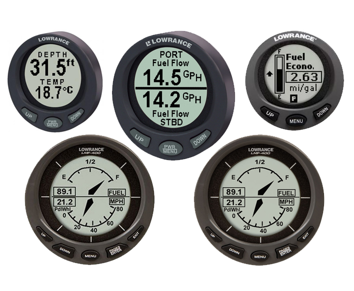 Digital Boat Gauges