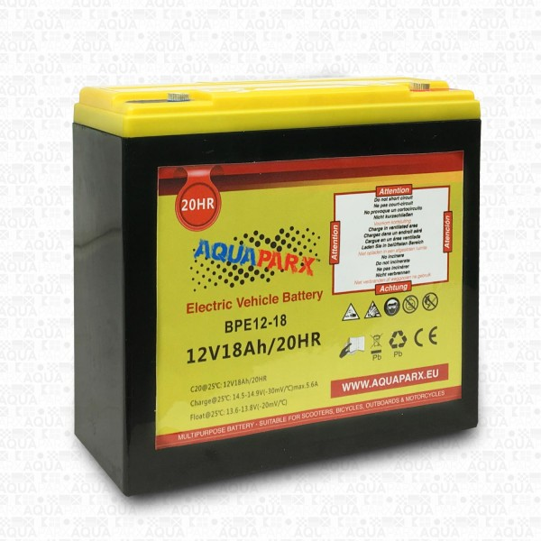 12V/18AH BATTERY FOR 32LBS ELECTRIC MOTOR