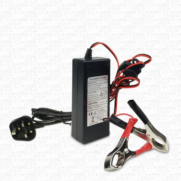 12V/2A BATTERY TRICKLE CHARGER - UK