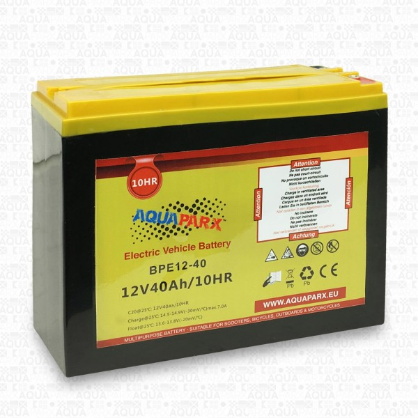 12V/40AH BATTERY FOR 60LBS AND 86LBS ELECTRIC MOTOR