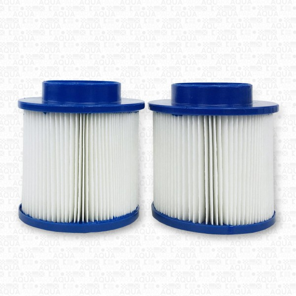 2 SPA FILTER CARTRIDGES - 10 CM
