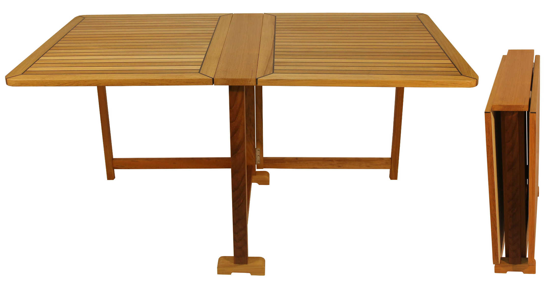 Folding Butterfly Table EUDE Nautic – Rectangular 75x140