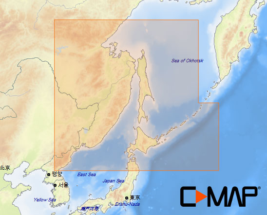 C-MAP MAX-N Sea Charts WIDE
