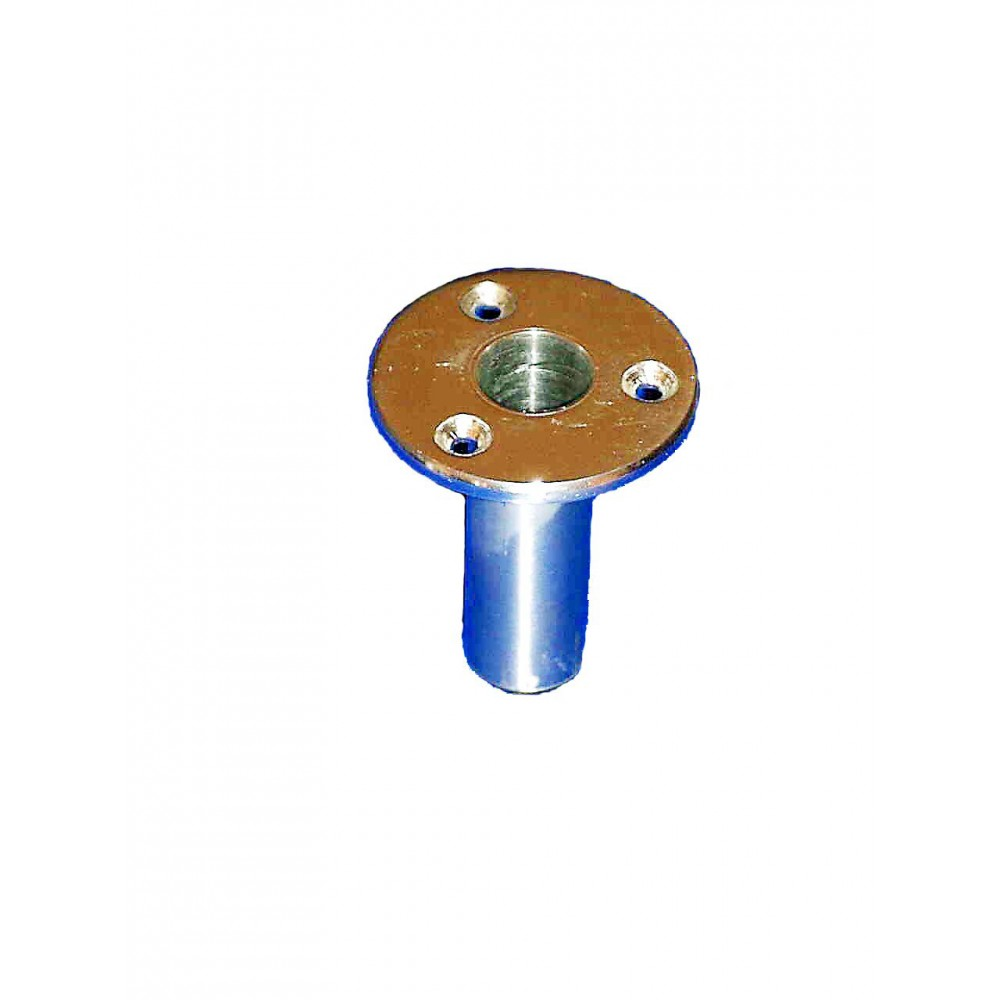 Deck socket for Gangway 25 mm