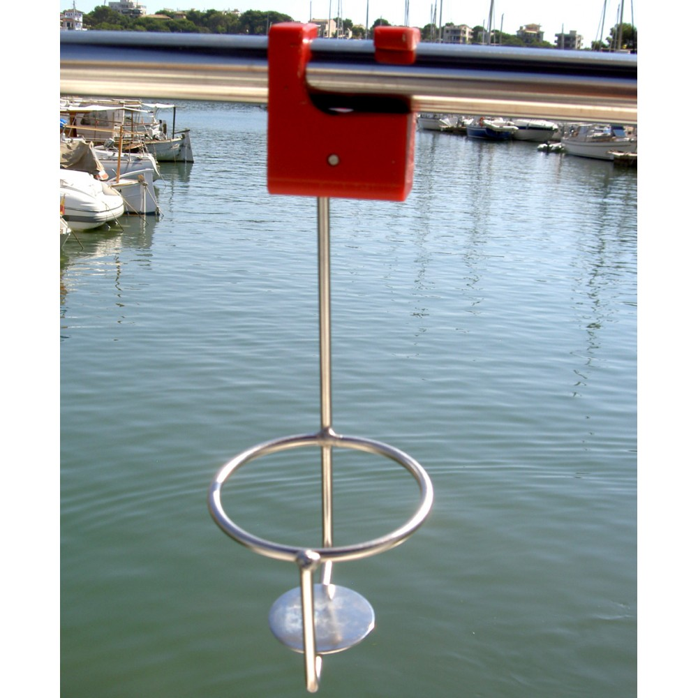 Drinkholder for Guard Rails and Stanchions 25 mm