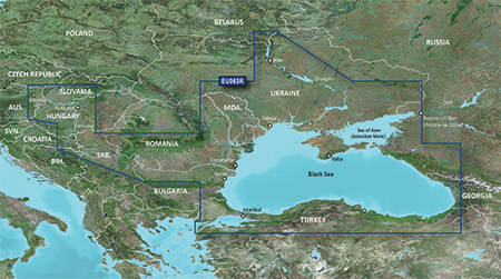 BlueChart® g2 HD Black Sea & Azov Sea (HXEU063R)