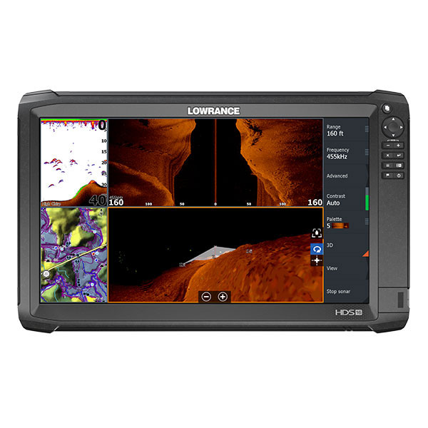 Fishfinder/chartplotter The Lowrance® HDS-16 Carbon No Transduce